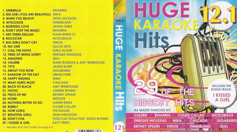HUGE KARAOKE HITS 12.1