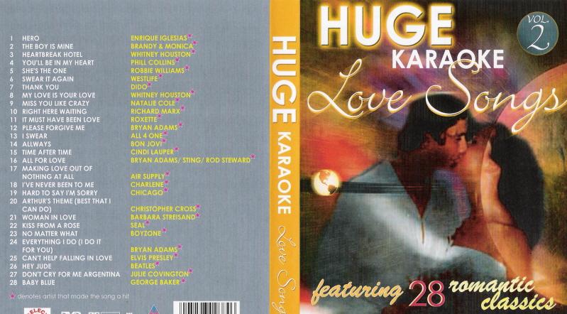 HUGE KARAOKE LOVE SONGS VOL 2