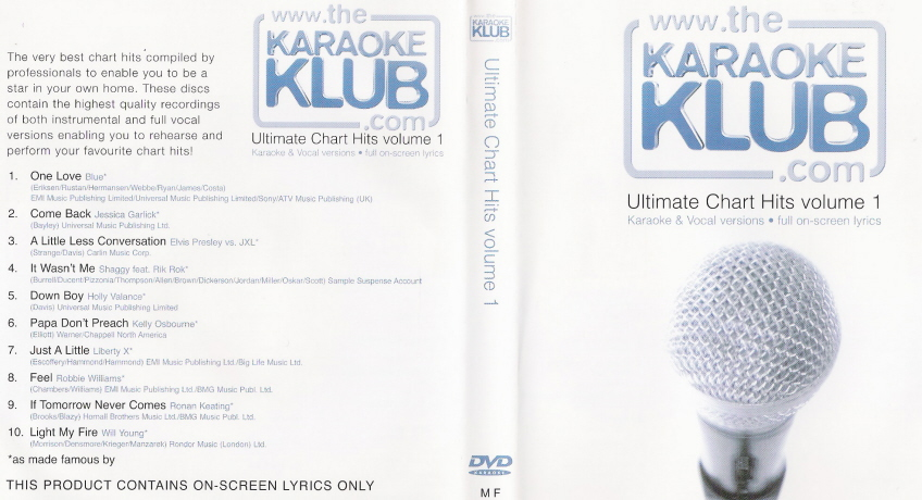 Ultimate Chart Hits vol 1