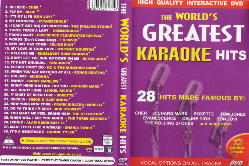 The World's Greatest Karaoke Hits