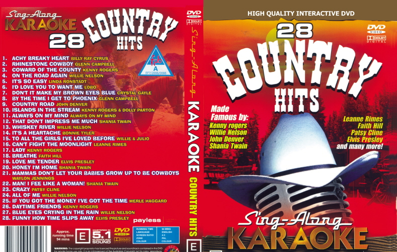 28 COUNTRY HITS