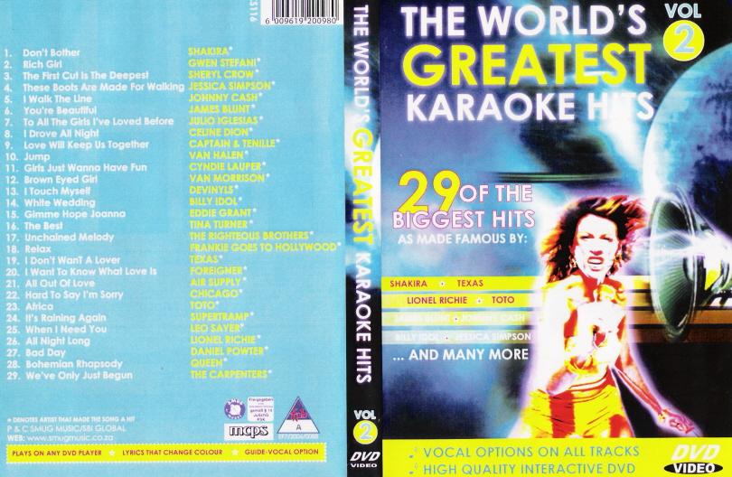 WORLD'S GREATEST KARAOKE HITS VOL. 2