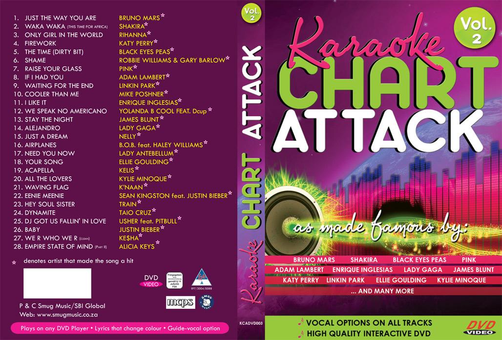 Karaoke CHART ATTACK VOL. 2