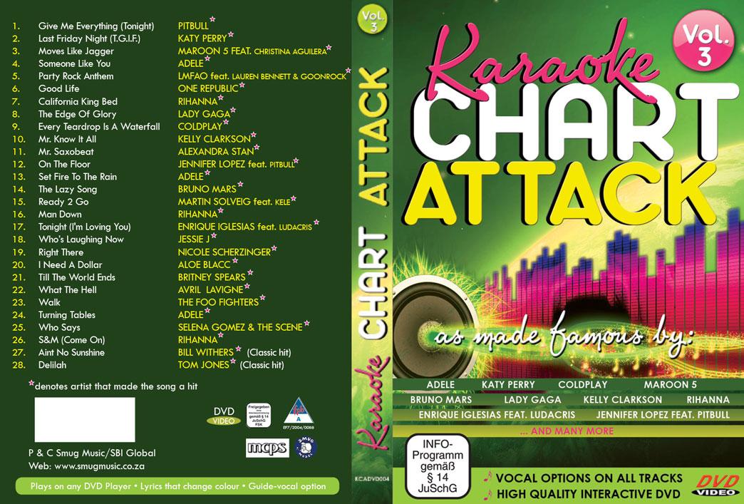 Karaoke CHART ATTACK vol. 3